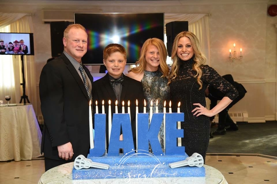 Bar Mitzvah Candelabra Candle lighting ceremony