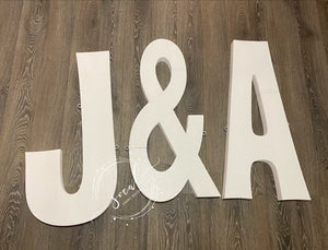Pool float 3 Letter or symbol Pool Party Custom Float Wedding, Birthday, Grad