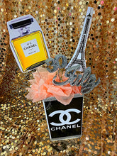 Load image into Gallery viewer, Shopping and Fashion Themed Centerpieces for Sweet 16, 21st, 30th, 40th, 50th Birthday Party