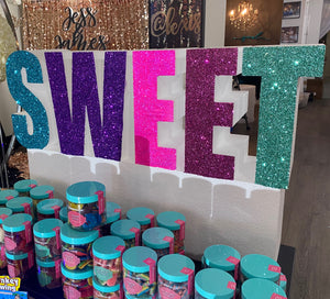 Sweet prop for candy dessert table or candyland theme