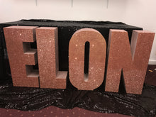 Load image into Gallery viewer, PICK UP- Large Freestanding Foam Letters Priced EACH for Prop or Candy Dessert Table Wedding, Graduation, Birthday