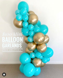 Fun and Beautiful Balloon Swag! Local Orange County CA Delivery and Set up!