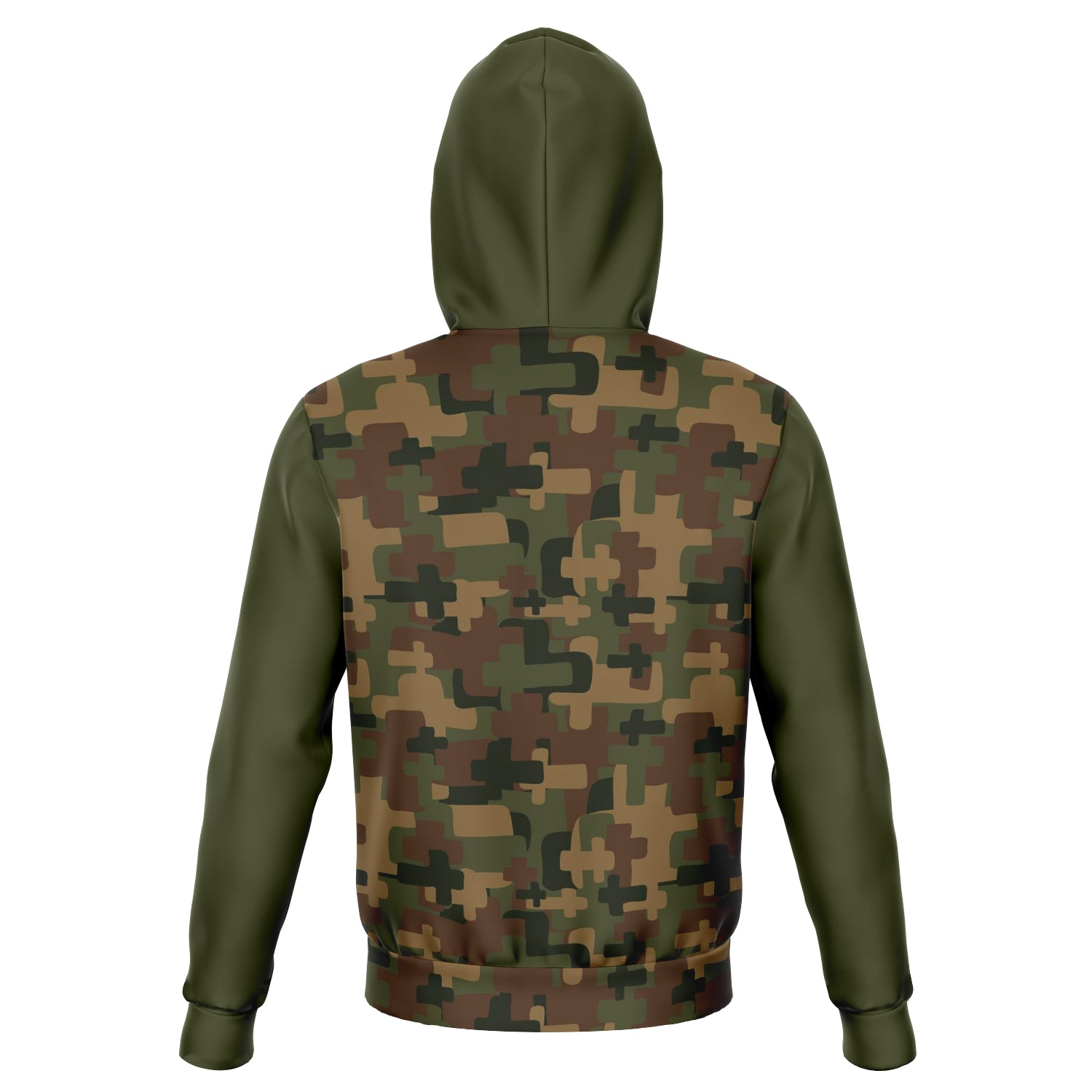 Boaz and Ruth Unisex Cross Camo AOP Hoodie