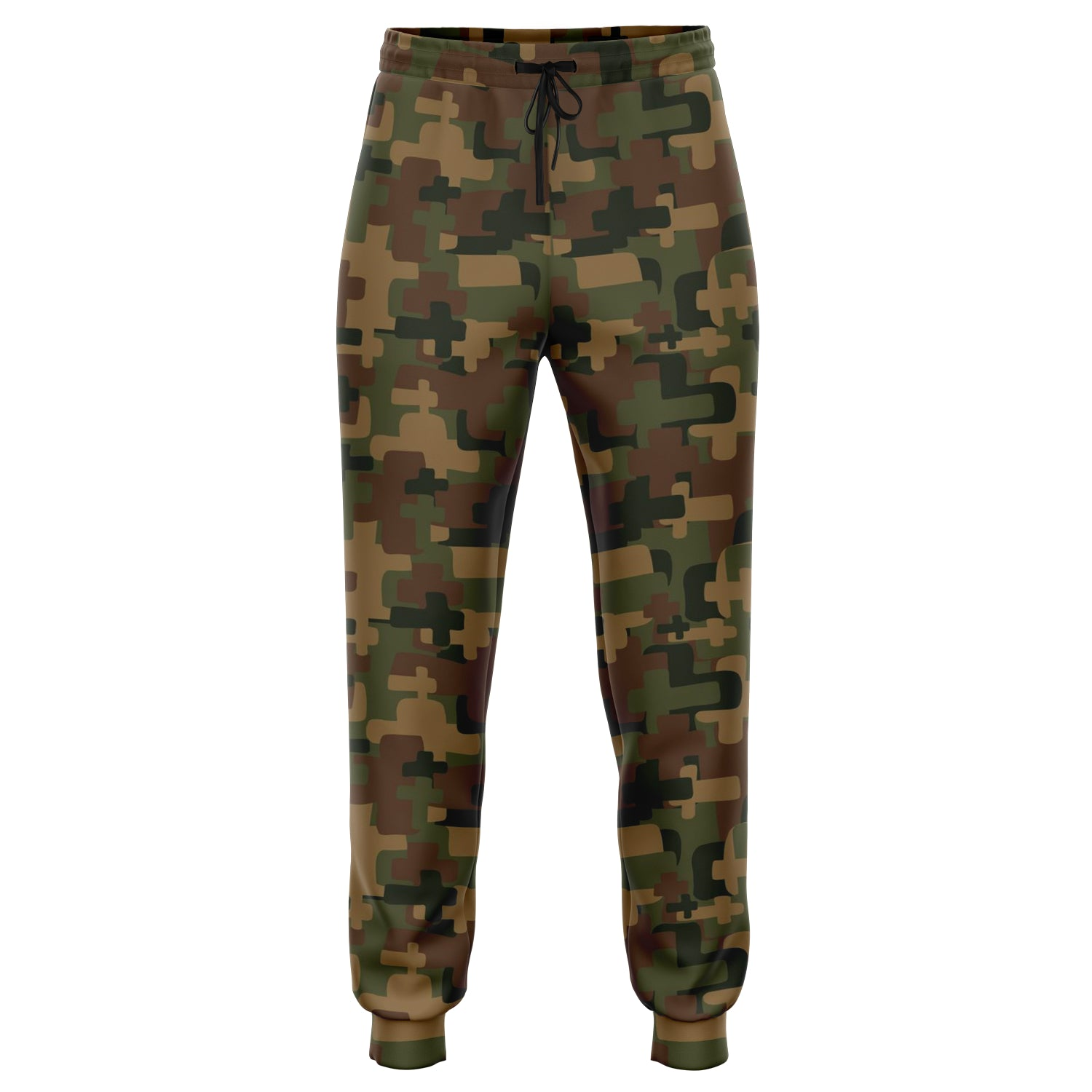 Boaz and Ruth Unisex Cross Camo Joggers