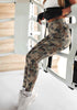 Deborah Cross Camo Leggings