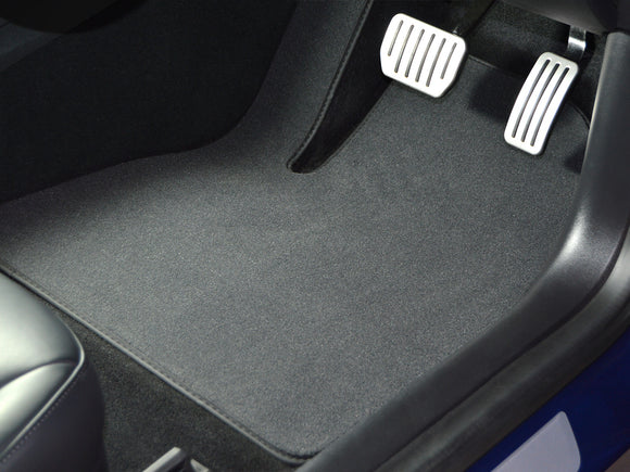 RUBBER DRIVERS FLOOR CAR MAT TAILORED HYUNDAI I30 2 Clip 07-12
