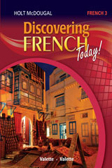 Holt McDougal Discovering French Today Hybrid Value Plus Bundle Print w/1 Year Digital Level 3 2013