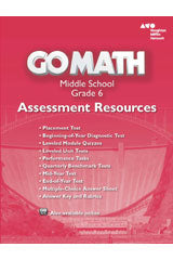 Go Math! Assessment Resource with Answers Grade 6
