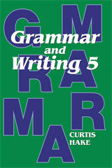 Grammar & Writing Homeschool Kit Grade 5 2nd Edition