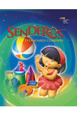 Senderos Estándares Comunes Common Core Student Edition Set of 25 Grade 1 2014