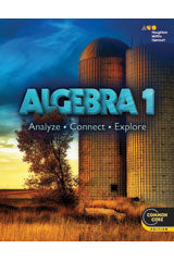 Holt McDougal Algebra 1 Premium Classroom Package Enhanced print w/1 year digital for 75 students