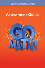 Go Math! Assessment Guide Grade 2