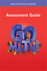 Go Math! Assessment Guide Grade 6