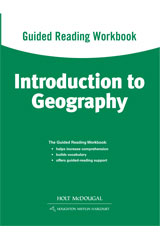 World Regions: Introduction to Geography Guided Reading Workbook