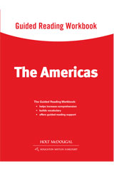 World Regions: The Americas Guided Reading Workbook