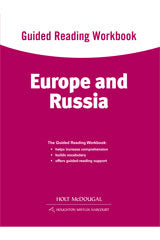 World Regions: Europe and Russia Guided Reading Workbook