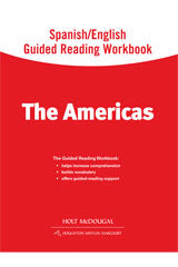 World Regions: The Americas Spanish/English Guided Reading Workbook