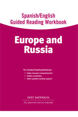 World Regions: Europe and Russia Spanish/English Guided Reading Workbook