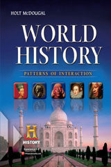 World History: Patterns of Interaction Guided Reading and Spanish/English GuidedReading Workbooks Answer Key Survey