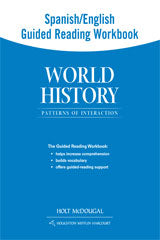 World History: Patterns of Interaction Spanish/English Guided Reading Workbook Survey