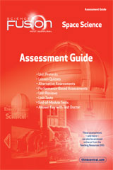 ScienceFusion Assessment Guide Module G Grades 6-8 Module G: Space Science