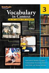 Vocabulary in Context for the Common Core Standards Reproducible Grade 3