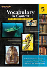 Vocabulary in Context for the Common Core Standards Reproducible Grade 5