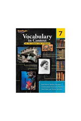 Vocabulary in Context for the Common Core Standards Reproducible Grade 7