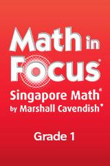Math in Focus Focus on the Common Core Teacher's Edition Tabs Grade 1