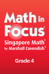 Math in Focus: Singapore Math Online Interactive Whiteboard Lessons 1-year Grade4