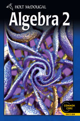Holt McDougal Algebra 2 Common Core Online Edition 1-year 2012