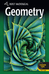 Holt McDougal Geometry Common Core Online Edition 1-year 2012