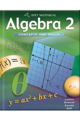 Holt McDougal Algebra 2 Algebra 2 Concepts & Skills with On Core Teacher Bundle