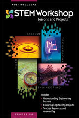 Science, Technology, Engineering, & Math Middle School Teacher EditionBundle Grades 6-8 2013