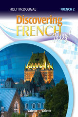 Holt McDougal Discovering French Today Teacher Resources Packs Level 2