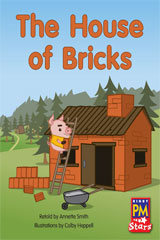 Rigby PM Stars Individual Student Edition Green (Levels 12-14) The House of Bricks