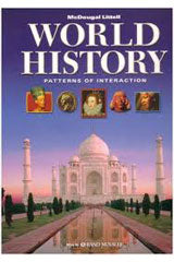World History: Patterns of Interaction Reading Study Guide, English