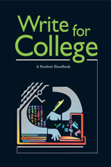 Write for College Softcover College Handbook