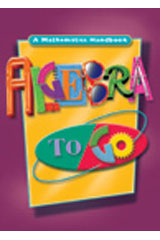 Algebra to Go Hardcover Student Edition 2000