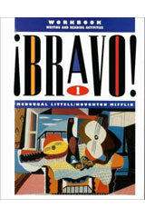 ¡Bravo! Workbook: Writing and Reading Activities Level 1