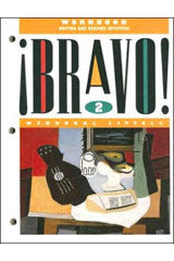 ¡Bravo! Workbook: Writing and Reading Activities Level 2