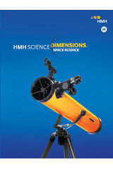 HMH Science Dimensions Hybrid Student Resource Package Module H (Print/1yr Digital) Grades 6-8 Module H: Space Science 2018