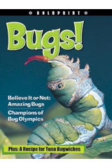 Steck-Vaughn BOLDPRINT Anthologies Individual Student Edition Yellow Bugs!