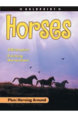 Steck-Vaughn BOLDPRINT Anthologies Individual Student Edition Yellow Horses