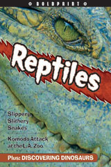 Steck-Vaughn BOLDPRINT Anthologies Individual Student Edition Orange Reptiles