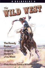 Steck-Vaughn BOLDPRINT Anthologies Individual Student Edition Red The Wild West