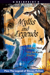 Steck-Vaughn BOLDPRINT Anthologies Individual Student Edition Red Myths and Legends