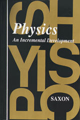 Saxon Physics Solutions Manual First Edition 1994