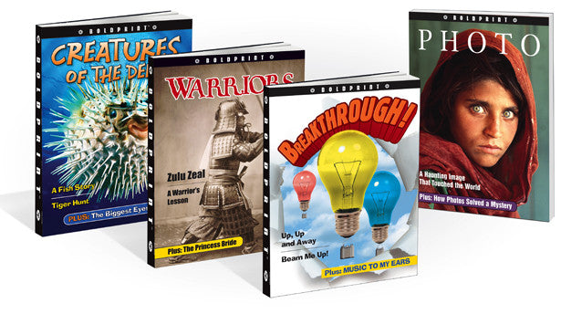 BoldPrint Anthologies