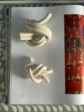 Load image into Gallery viewer, Bare porcelain, double figure 8 knot & midshipman's hitch knot